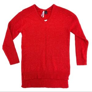 Love By Design Red V-Neck Sweater